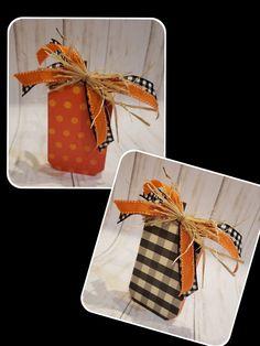 Thanksgiving Crafts, Fall Crafts, Crafts To Make, Diy Crafts, Dollar Tree Pumpkins, Wood Pumpkins, Dollar Store Crafts, Dollar Stores, Fall Halloween