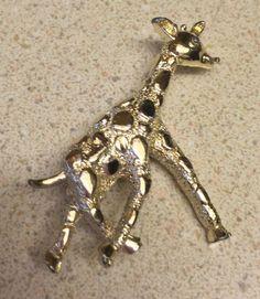 Vintage Gerrys Giraffe Pin  | eBay