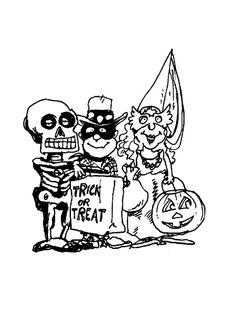 Dibujos para Colorear Halloween 6