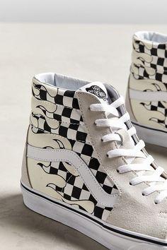 Custom Painted Shoes, Custom Vans, Custom Shoes, Vans Haute, High Top Vans, Skate High Vans, High Tops, High Top Sneakers, Tenis Vans