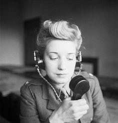 Telegrafista del ejército británico