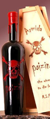 Armida Poizin. #Halloween #Wine for a Spook-tacular Evening