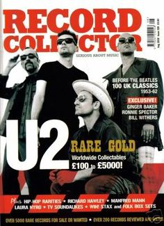 U2, Record Collection #bono #theedge #larrymullen #adamclayton #u2 #music #rock