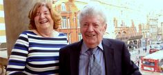Allan Williams with Freda Kelly, the Beatles secretary, was last on the Liverpool Town Hall balcony in 1964, looking down on 200,000 screaming fans