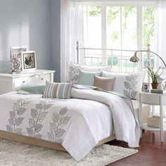 Madison Park Jocelyn 6-piece Coverlet Set - Overstock Shopping - Great Deals on Madison Park Bedspreads