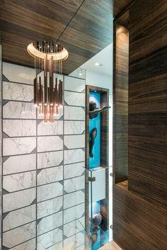 Welcome to Gaurav Kharkar & Associates House Design, Interior, Hanging Lights, Ceiling Design, Modern Apartment Design, Indian Interiors, Home Interior Design, Wall Paneling, Wall Design