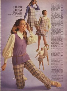 1960s Sears - had cute outfit in middle