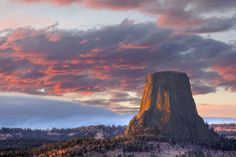 Your jaw will drop when you catch the first glimpse of Devils Tower, the wild geologic feature rising from an open prairie surrounding the Black Hills in Wyoming.