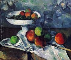 CEZANNE PAUL C THE PLATE OF APPLES 1897