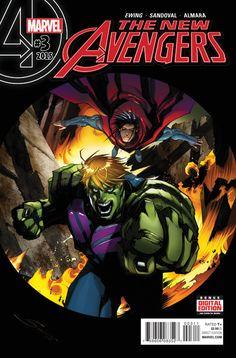 New Avengers Vol. 4 # 3 by Gerardo Sandoval