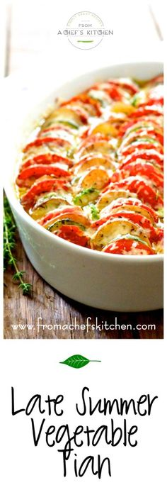 ... Vegetable Tian on Pinterest | Vegetables, Vegetable Pie and Zucchini