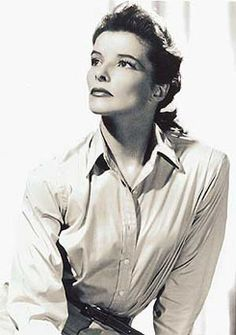 I'm Katherine Hepburn - who are you?