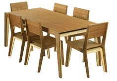Plyboo Havana Bamboo Dining Table and Chairs