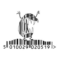 barcode art evil mole by frost-rot on DeviantArt Barcode Art, Barcode Design, Barcode Tattoo, Graphic Design, Mole, Scar Cover Up, Black And White Doodle, Easy Drawings Sketches, Smile Wallpaper