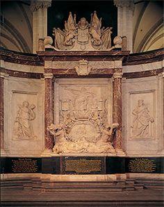 Dit is Michiel de Ruyters graf hij is op 29 april 1676 bij de baai van Syracuse doodgegaan aan een schotwond.