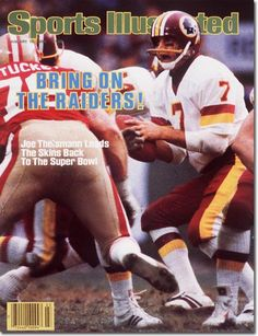 Joe Theismann, Football, Washington Redskins
