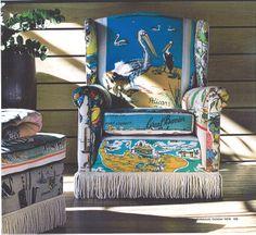 Suzie Stanfords Tea Towel Furniture