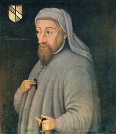 Geoffrey Chaucer portrait. English author, poet and philosopher: c 1343 – October 25, 1400.( Bodleian Library.)  (Photo by Culture Club/Getty Images)