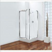 Coram Showers Gb Bi Fold Door 800mm Bifold Glass Shower Door