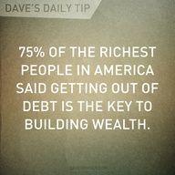Dave's Daily Tip #800DebtSettlement http://www.800debtsettlement.com/