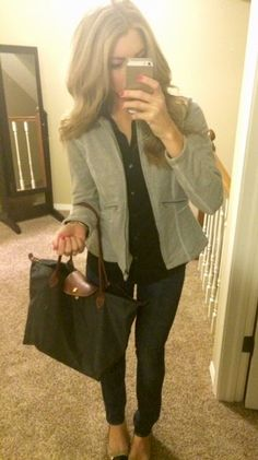 Polished and Pink Blog - work outfit