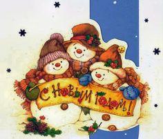 Team Frosty   Mis Laminas para decoupage (pág. 159)   facilisimo.com