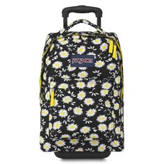 JanSport Digital SuperBreak Sleeve Backpack (BLACK LUCKY DAISY) * You can get more details by clicking on the image.