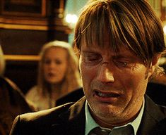Mads Mikkelsen as Lucas in The Hunt (he broke my heart in this movie... :( )