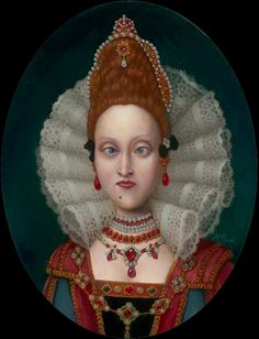 Marion Peck - Queen Charles of Wessex (lots of awesome dark art)