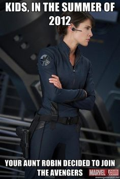 The Avengers: Bilder von Cobie Smulders als Maria Hill Maria Hill, Avengers Humor, How I Met Your Mother, Marvel Universe, Rasengan Vs Chidori, The Meta Picture, Avengers 2012, Avengers Images, Marvel Avengers