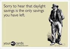 Daylight savings #ecards