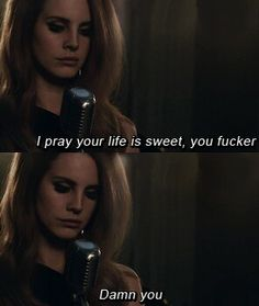 Lana Del Rey #LDR #Damn_You
