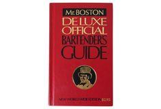 $39 - Mr. Boston Deluxe Bartender's Guide