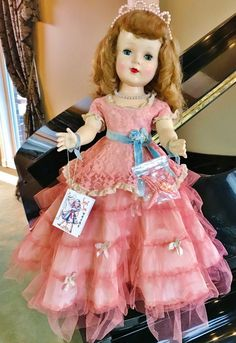 1950/'s American Character SWEET SUE Doll Curler WRIST hang TAG Reproduction