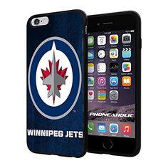 "NHL HOCKEY Winnipeg Jets Logo, Cool iPhone 6 Plus (6+ , 5.5"") Smartphone Case Cover Collector iphone TPU Rubber Case Black Phoneaholic http://www.amazon.com/dp/B00VTUBTU0/ref=cm_sw_r_pi_dp_G0Bmvb0WSNHHJ"