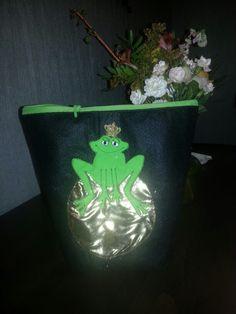 Krimskrams Tasche frosch