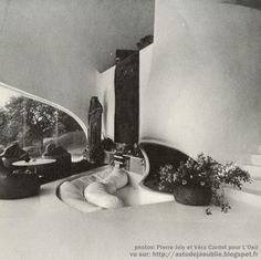 Sebourg - House Verley / house-plant   Sculptor: Peter Szekely. Architect: Henry Seagull   Construction: 1971-1972