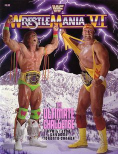 The Ultimate Warrior and Hulk Hogan - I've still got this magazine somewhere - I kept it cos it had Warrior in it
