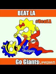 SF Giants beat LA humor