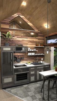 The Tiny Tack House Kitchen