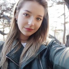 "Find and save images from the ""angelina danilova"" collection by Alex Parks on We Heart It, your everyday app to get lost in what you love. Girl Face, Woman Face, Chico Indie, Angelina Danilova, Hollywood Celebrities, Ulzzang Girl, Pretty Face, Pretty Woman, Beauty Women"