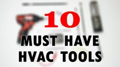 Top 10 HVAC tools under 30 dollars that are worth having! These are 10 tools that I picked out of my tool bag that I really like and they are all under 30 bu. Hvac Filters, Furnace Filters, Hvac Air Conditioning, Hvac Tools, Hvac Maintenance, Hvac Repair, Radiant Barrier, Home Ac, Electrical Installation