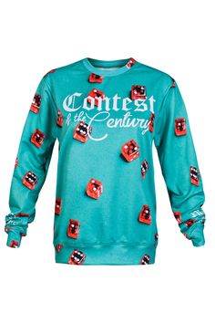 Cheryl Bull Handsome Mens Casual Long-sleeved Ethnic Printed Hooded Sweater