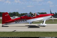 Van's RV-7 aircraft picture Experimental Aircraft, Aircraft Pictures, Paint Schemes, Spacecraft, Airplanes, Rv, Vans, Adventure, Vehicles