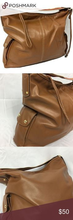 Isaac Mizrahi Live!  Leather Hobo purse The east end. Capture the easygoing elegance of Bridgehampton with this luxurious leather hobo. With pockets inside and out, it allows you to be your most fabulous, organized self. From Isaac Mizrahi Live! Isaac Mizrahi Bags Hobos