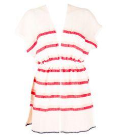 lemlem Berta Red Striped Tunic