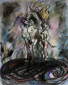 '3 sisters&dragon' Ada Besselink 2015