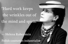 Helena Rubinstein (born Chaja Rubinstein, December 25, 1870 – April 1, 1965) was an extraordinary woman who created a cosmetic empire and gave it her name, an entrepreneur who started with nothing except a belief in the strength of women.