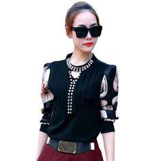 Blusas Feminina Camisas Chiffon Blouse Women Tops Ladies Shirt Ropa Mujer Vetement Femme Chemise Woman Clothes Plus Size M~XXXL