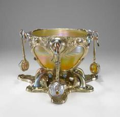 Designed by Louis Comfort Tiffany.